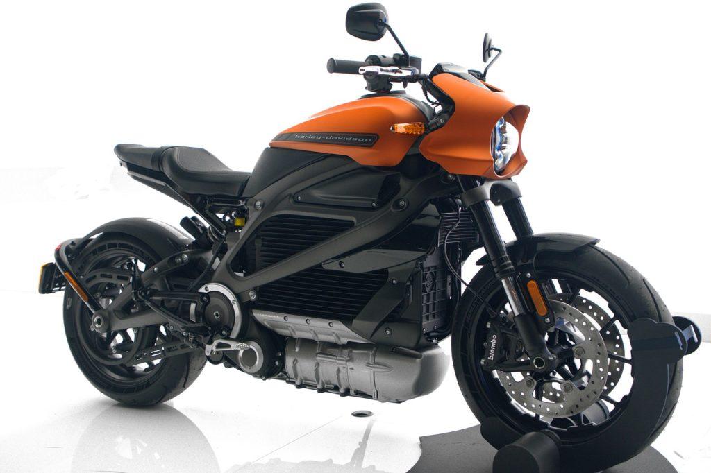Moto électrique livewire