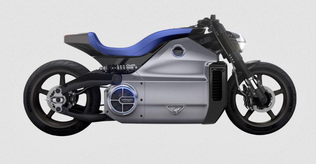 Moto électrique Voxan Wattman