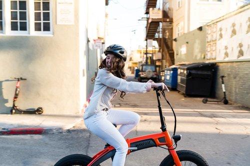 Vélo pliant électrique