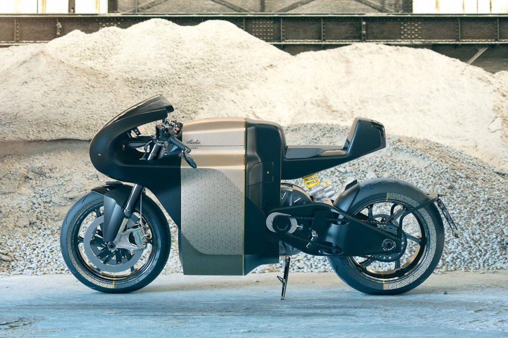 Moto électrique Sarolea