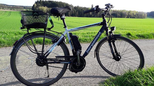 Vélo avec kit moteur électrique