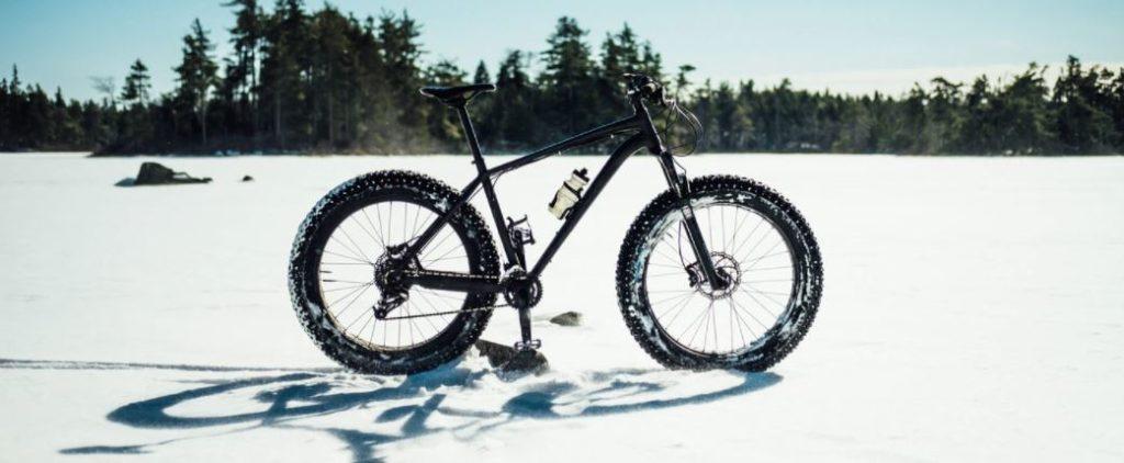 Fat bike sur neige