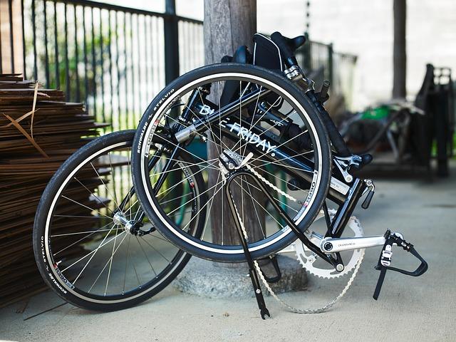 Vélo pliable grandes roues