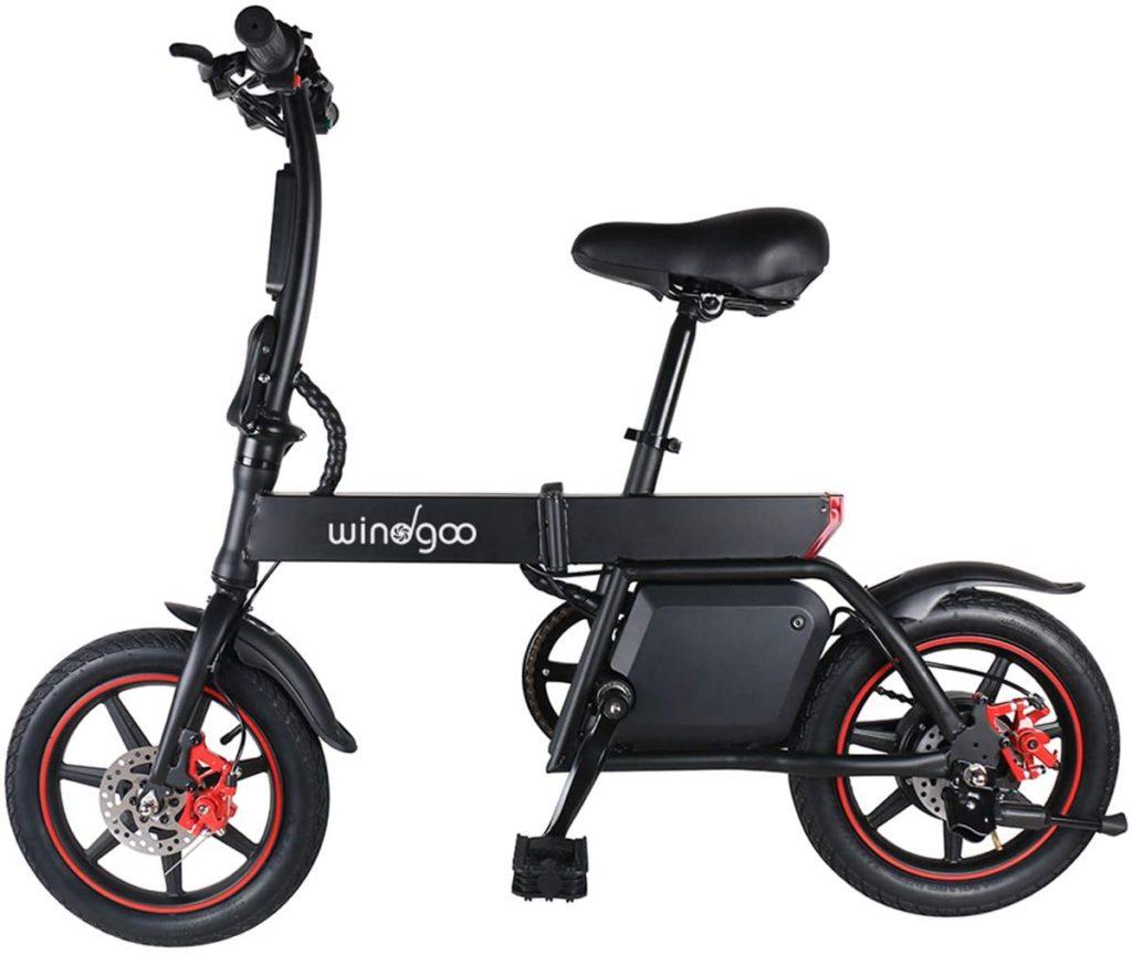 Mini vélo pliant électrique