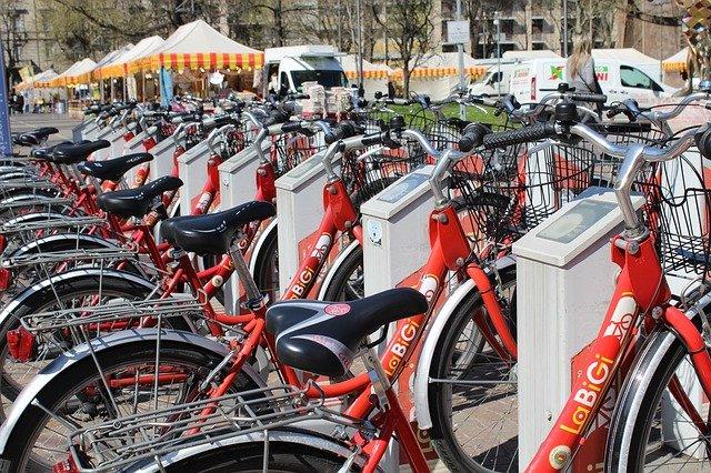 Vélo en libre service