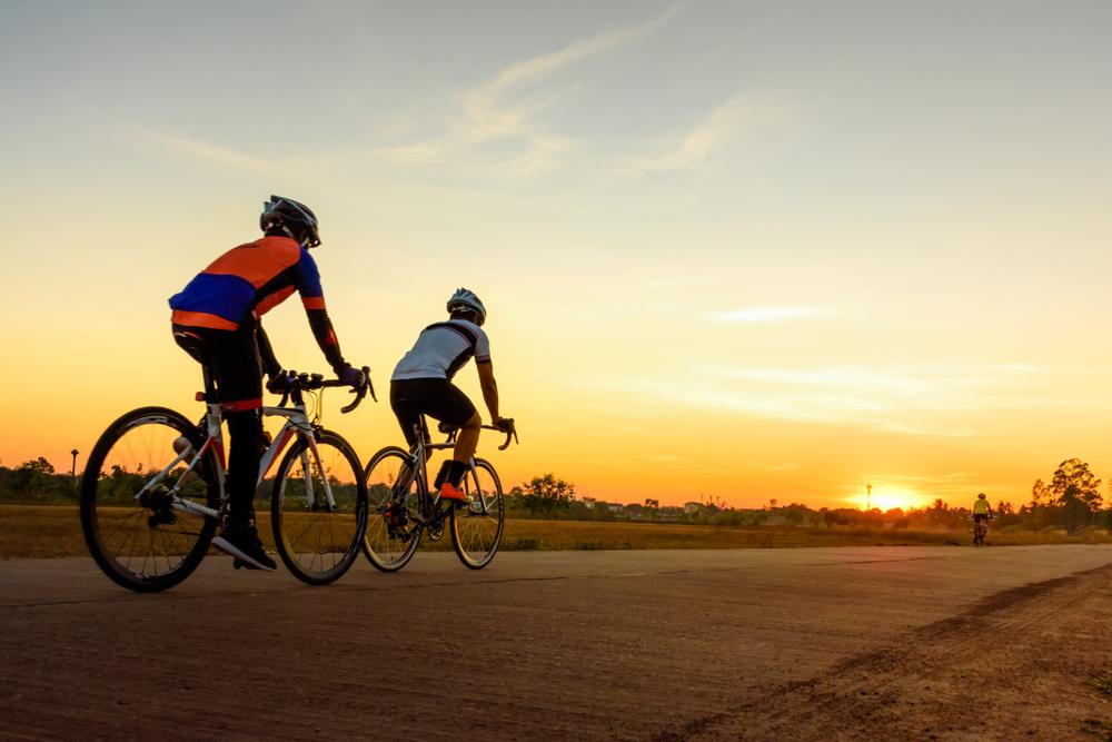 Rouler en groupe à vélo