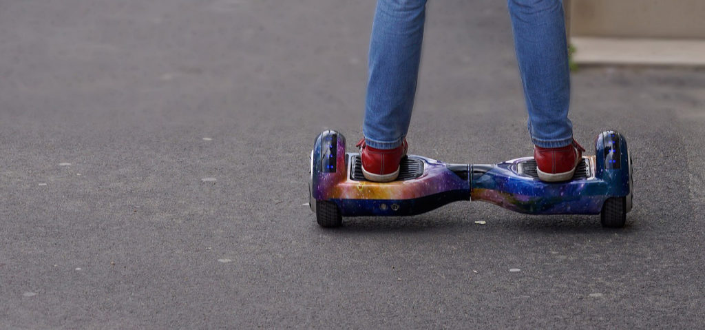 Fonctionnement hoverboard Bluetoot